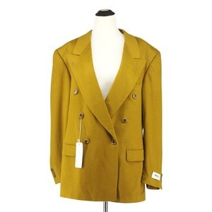 Hugo Boss |Al Capone mustard yellow blazer size 42
